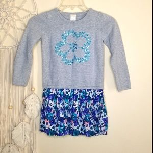 Gymboree Girl's Sweater Floral Dress 6